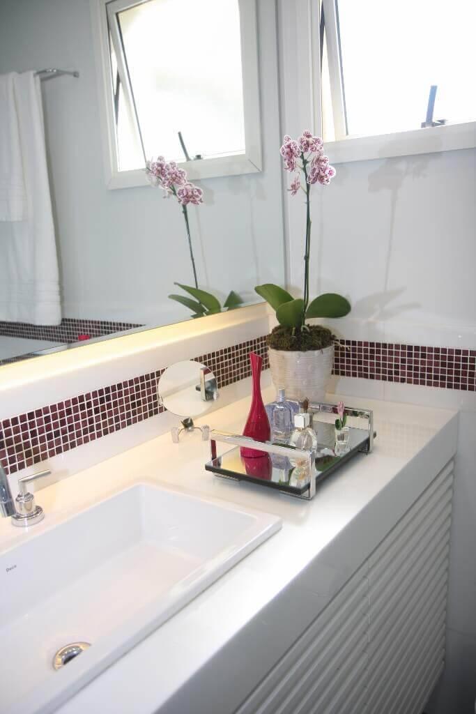 reforma de banheiro com Organização