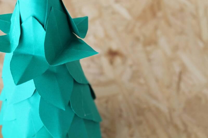 Árvore de Natal de Garrafa Pet passo 8