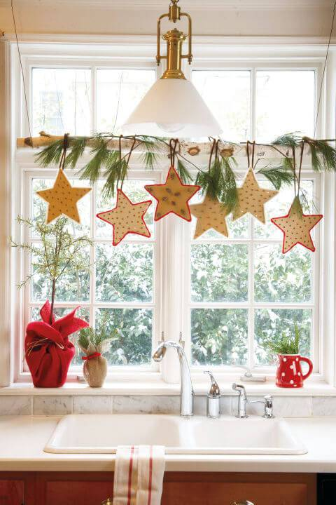 How To Xmas Decorate Kitchen