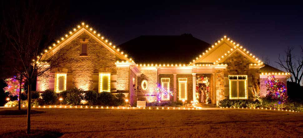 Decoração de Natal fachada