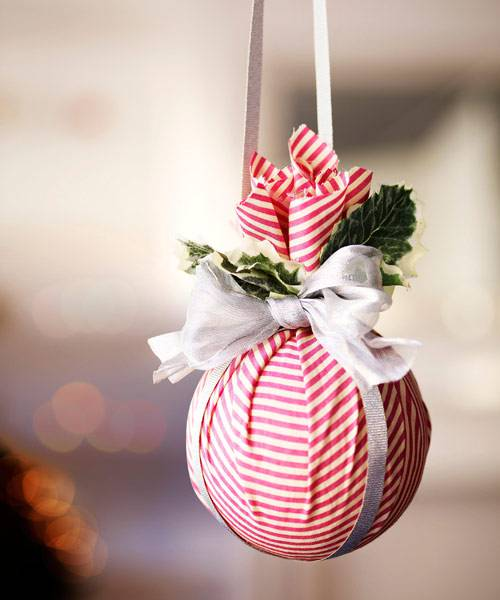 Decoração de Natal para arvore de tecido