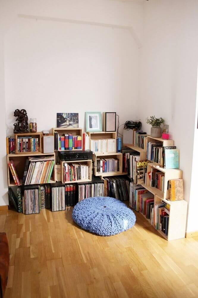 cantinho da leitura simples Foto Homedit