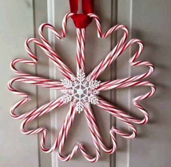 Guirlanda para Natal simples e criativa