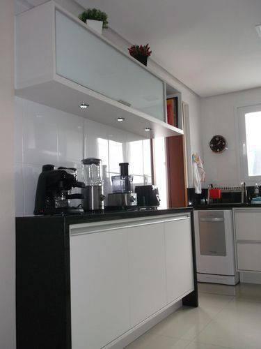 36795 balcão de cozinha em granito preto