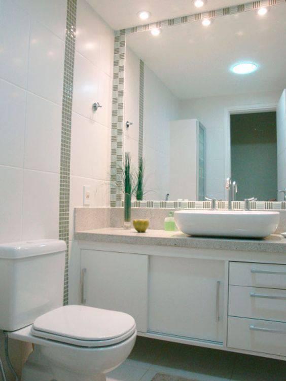 Revestimento para banheiro de ceramica branca