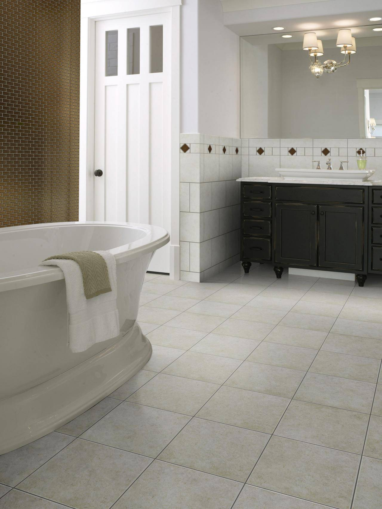 Revestimento para banheiro piso ceramico bege
