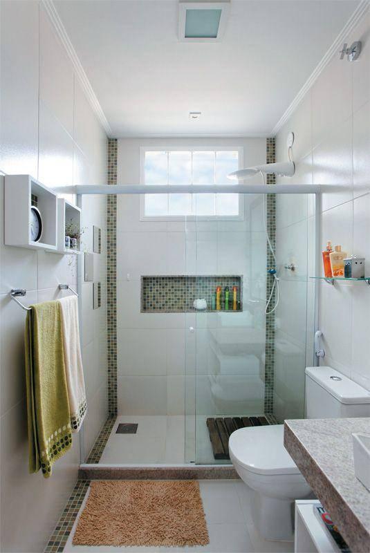 Revestimento para Banheiro Como Colocar Piso Cerâmico -> Banheiro Cm Nicho