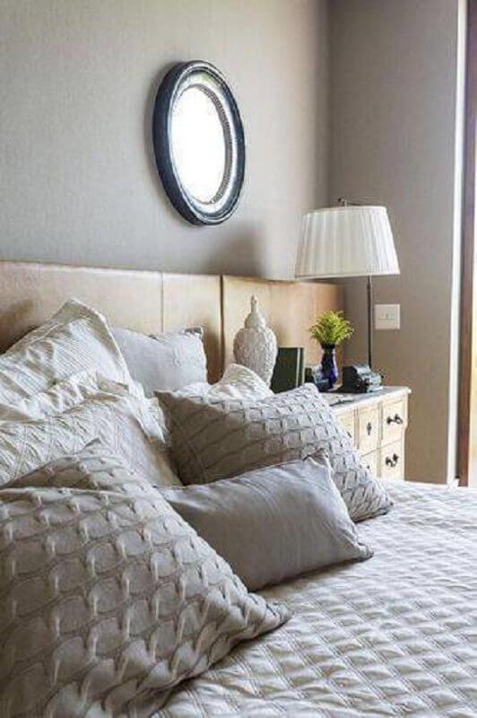 modelo de abajur para quarto com decoração clean