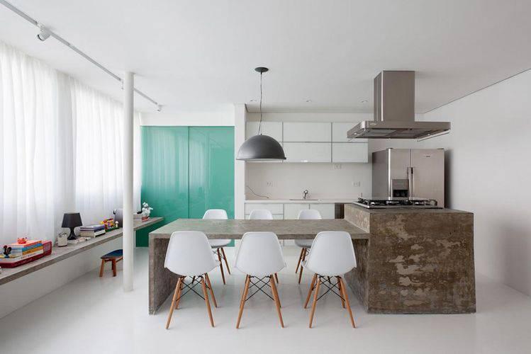 108943- balcão de cozinha feito de concreto felipe hess