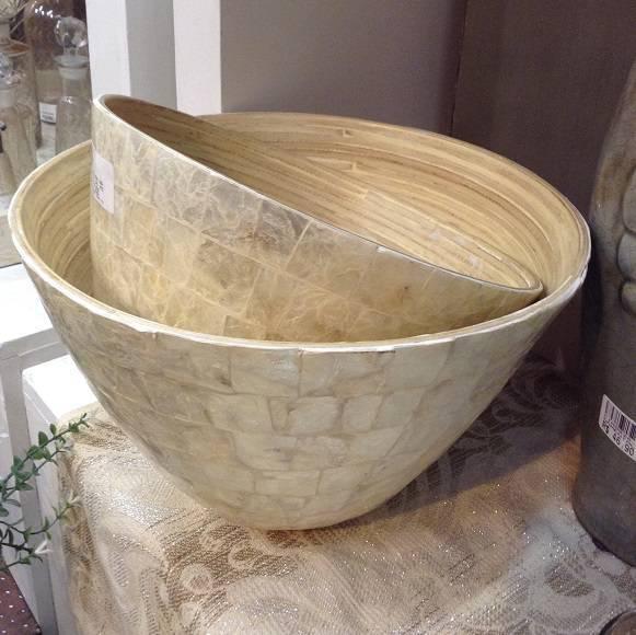 Bowls em madrepérola, da Singh Antica.