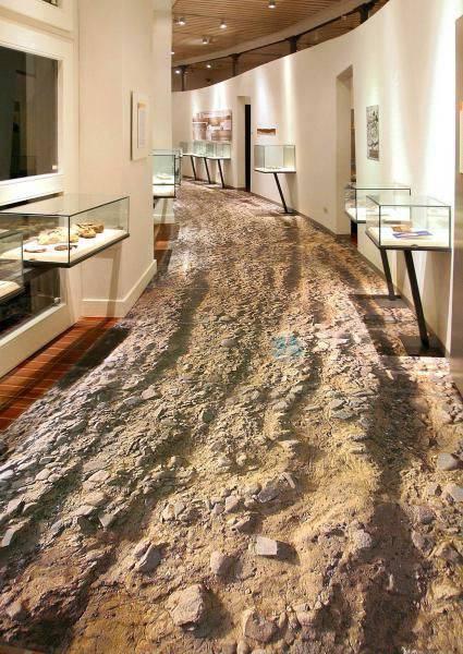 Piso de Porcelanato Liquido Epoxi ou 3D corredor de areia