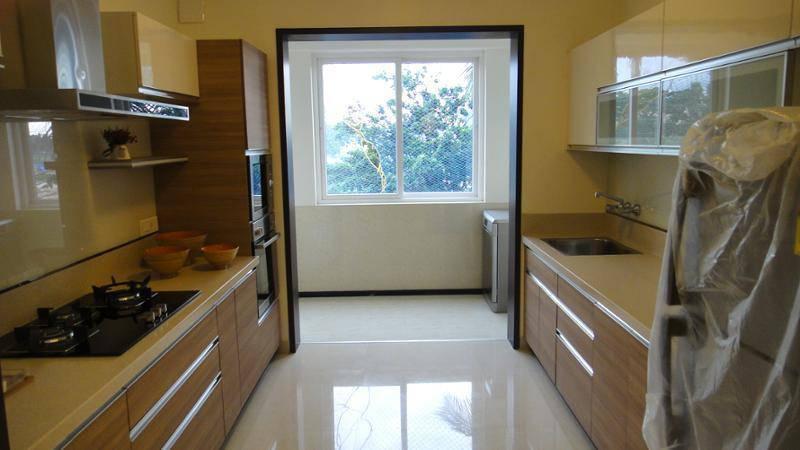 Piso de Porcelanato Liquido Epoxi ou 3D na cozinha
