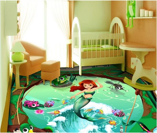 Porcelanato líquido para quarto infantil Curso Aplicação