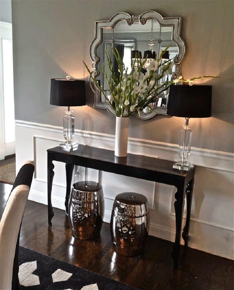garden seat de prata decoração