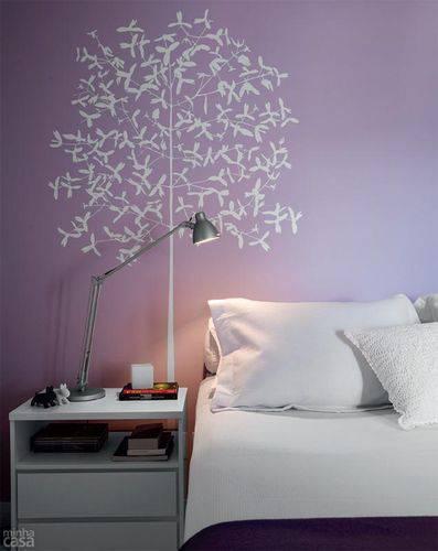 15199 quarto com adesivos de parede branco marina carvalho