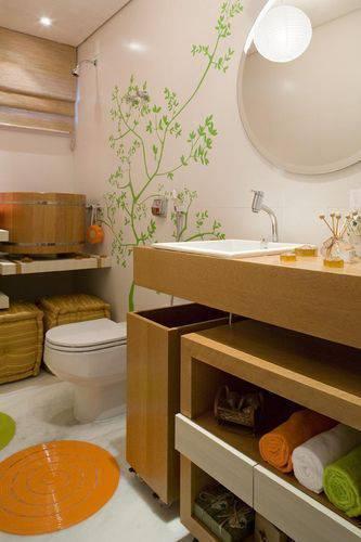 19435 banheiro com adesivos de parede karla amaral