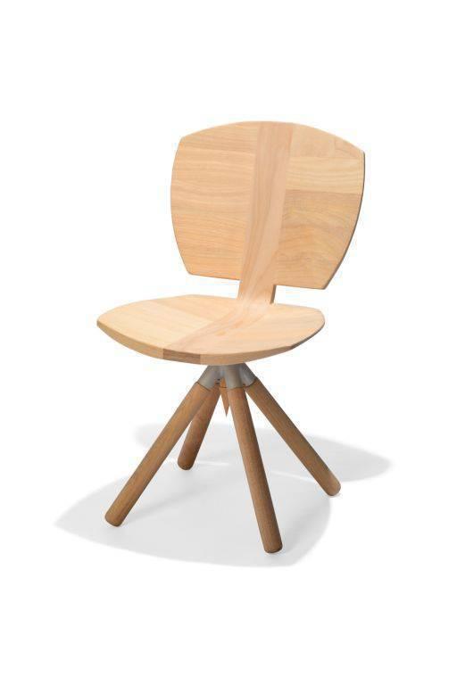 Cadeira Giratória Concha (Carlos Motta).