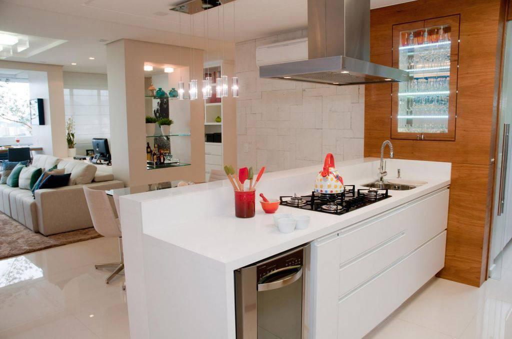 cozinha americana com cooktop juliana pippi 69848