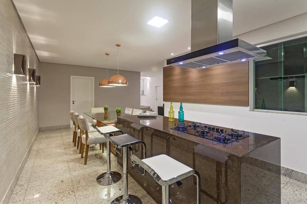 cozinha gourmet com coifa laura santos 96146