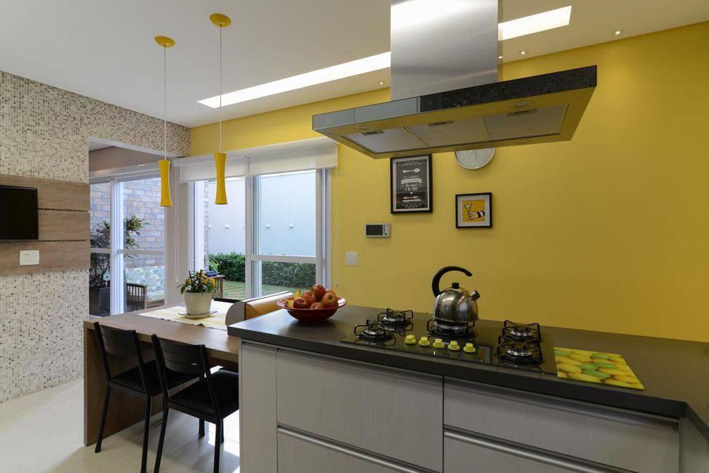 cozinha gourmet com cooktop lam arquitetura 91759