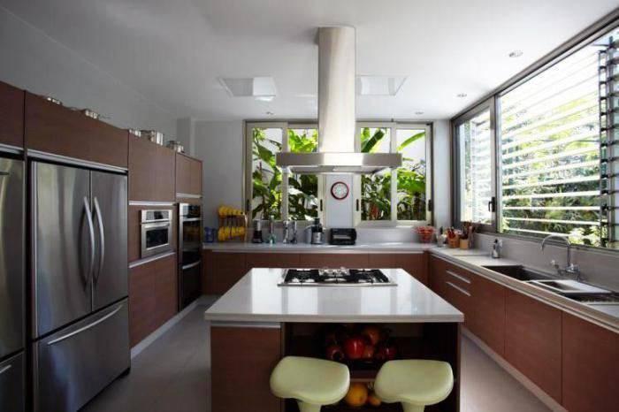 cozinha planejada com cooktop arquimagens 19969