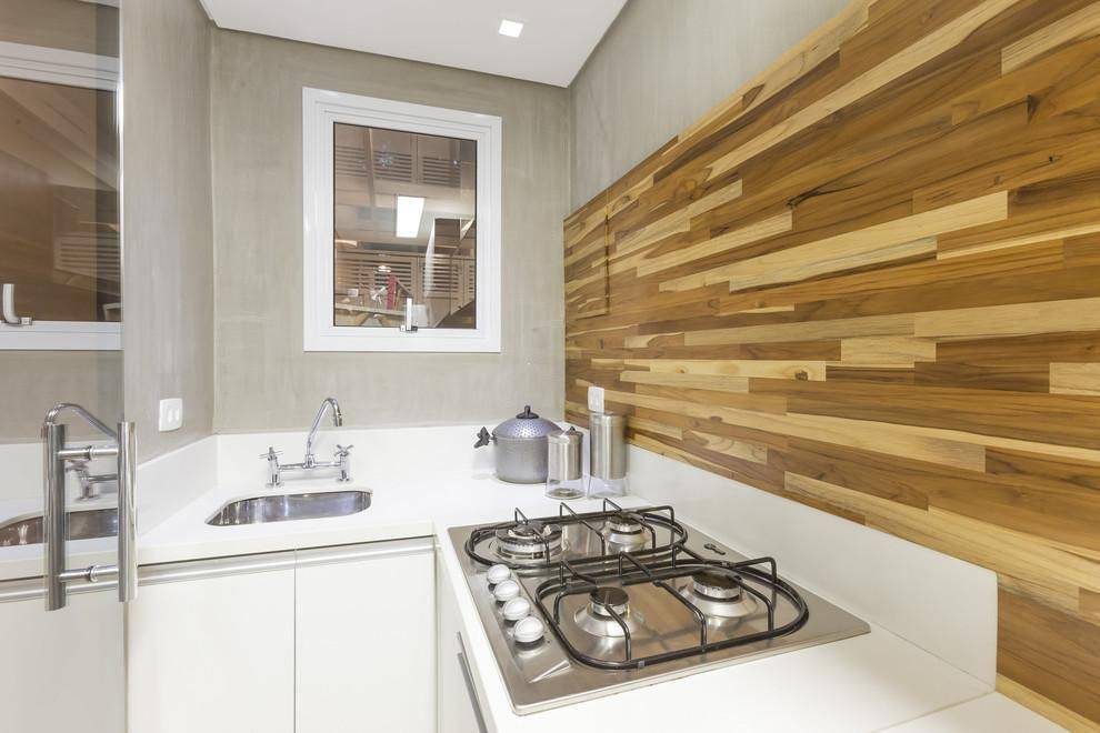 cozinha planejada com cooktop cristiane bergeschbergesch 110070