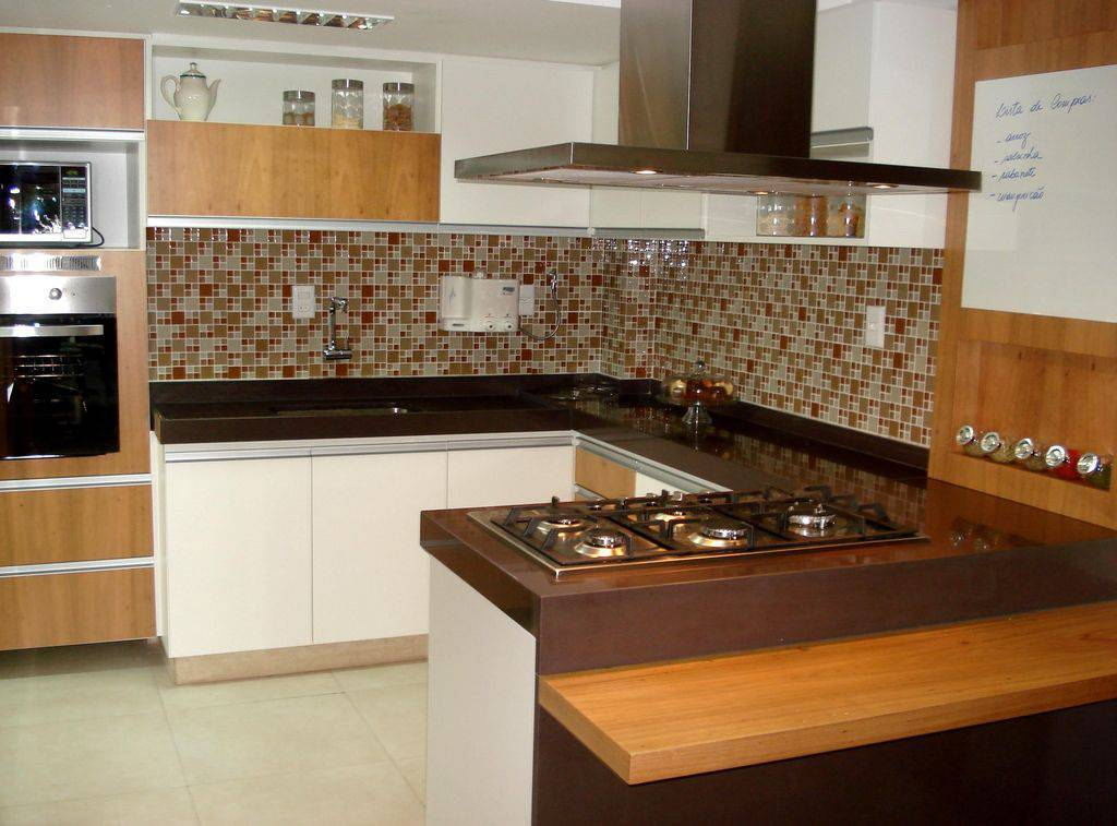 cozinha planejada com cooktop cs projetos 35427