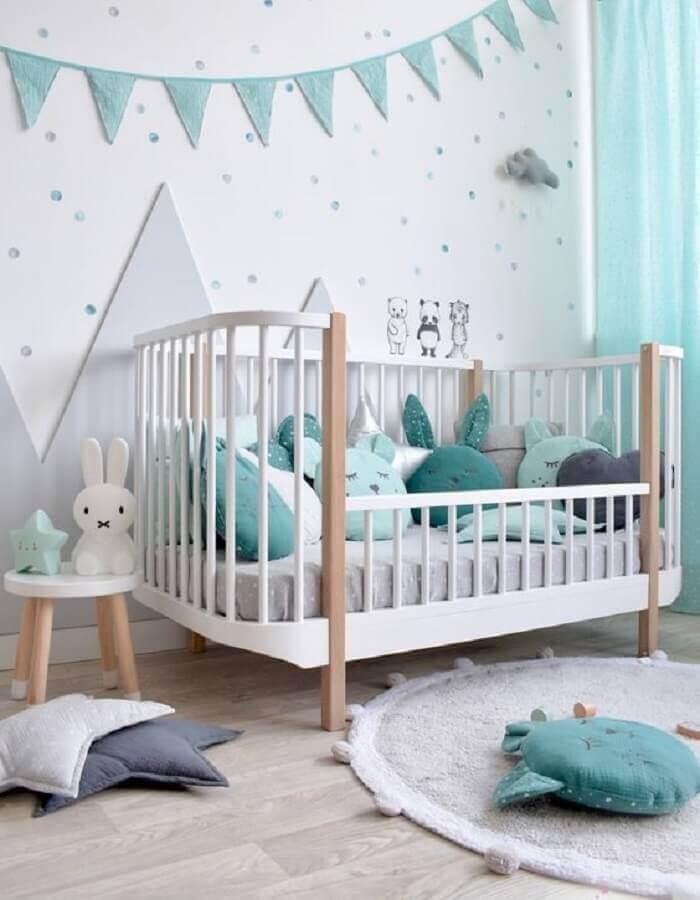 decoração lúdica com tapete redondo para quarto de bebê Foto Fantasy Room