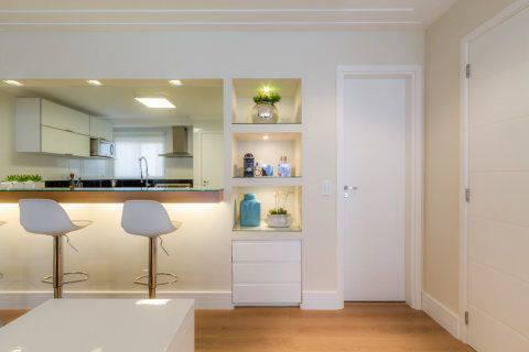 drywall de cozinha americana