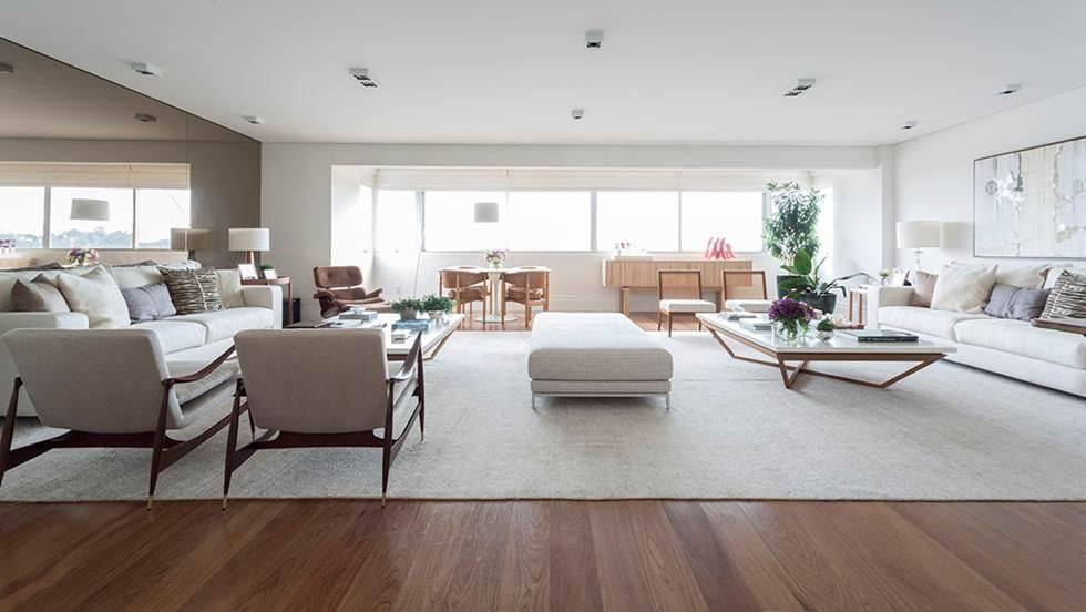 piso vinilico sala de estar bmg arquitetura 22383
