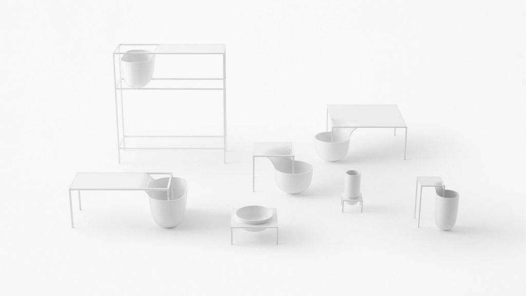 Da Nendo para a Flos, a luminária Gaku é praticamente uma mobília. Assinada por Oki Sato, pode abrigar livros, organizar objetos e até plantas.