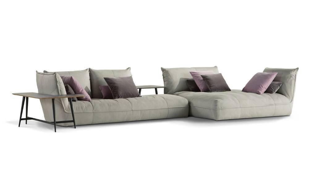 Foi-se o tempo dos sofás rígidos em uma única peça. A Roche Bobois Paris aposta nos módulos no Octet.