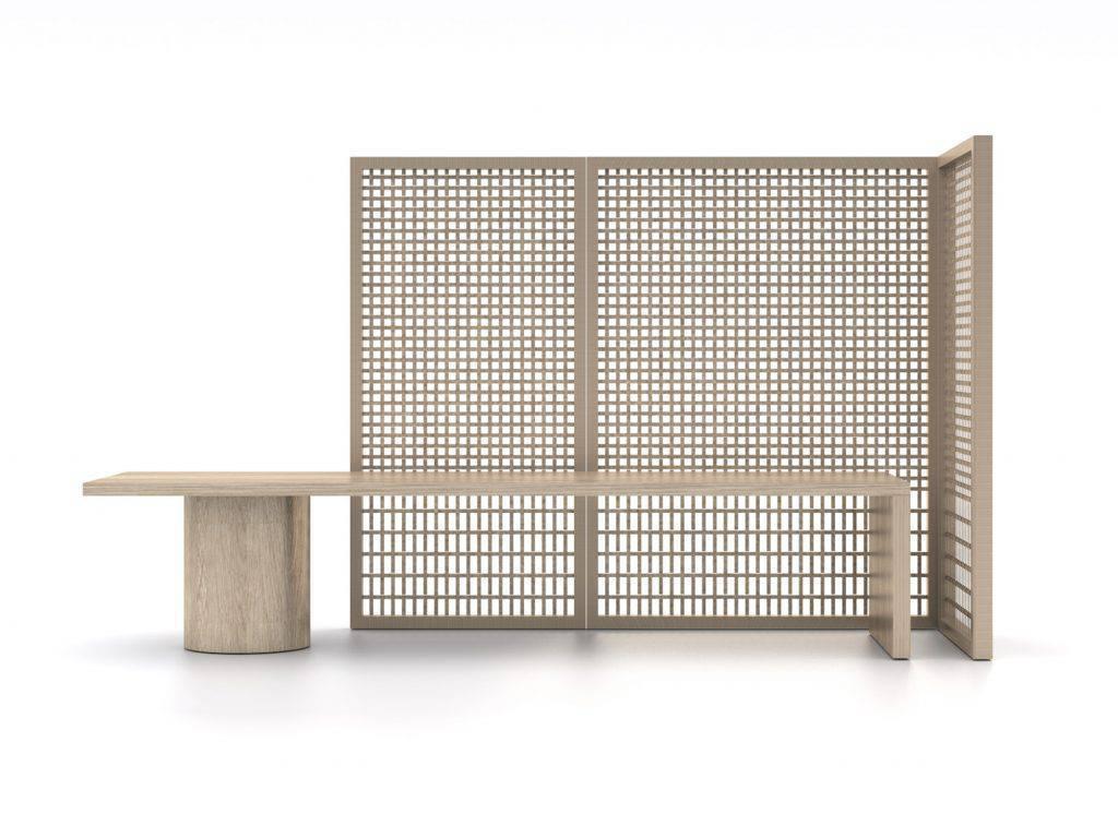 É a principal matéria-prima da coleção Khora, uma colaboração entre o designer chinês Adrian Cheng e seu mestre recém-falecido Shigeru Uchida.