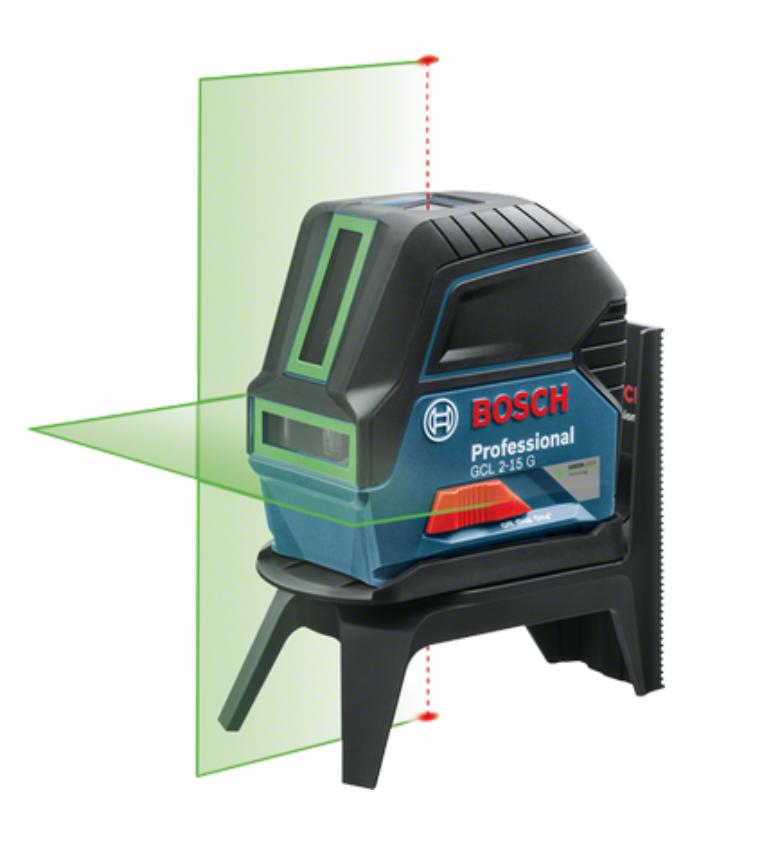 A Bosch também apresentou o GCL 2-15 G, primeiro nível laser verde do Brasil. Ele é quatro vezes mais visível que a luz vermelha e favorece o trabalho até em ambientes com muita iluminação.