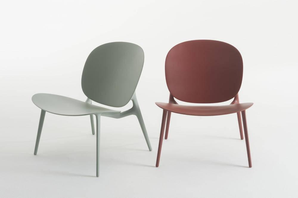 Cadeiras Be Bop, de Ludovica e Roberto Palomba para a Kartell.