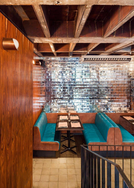 arandelas no restaurante mm18 arquitetura 106101
