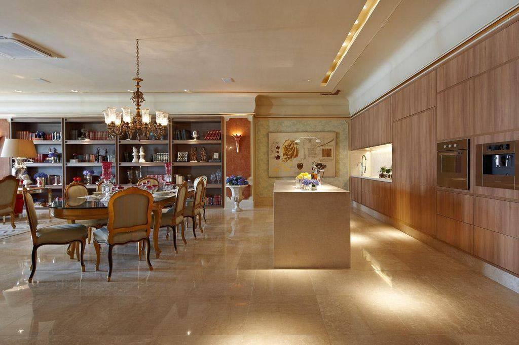 arandelas sala de jantar sq arquitetos associados 65552