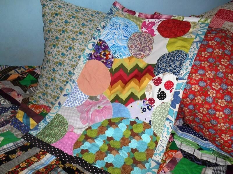 diy decoração tapetes-de-retalhos