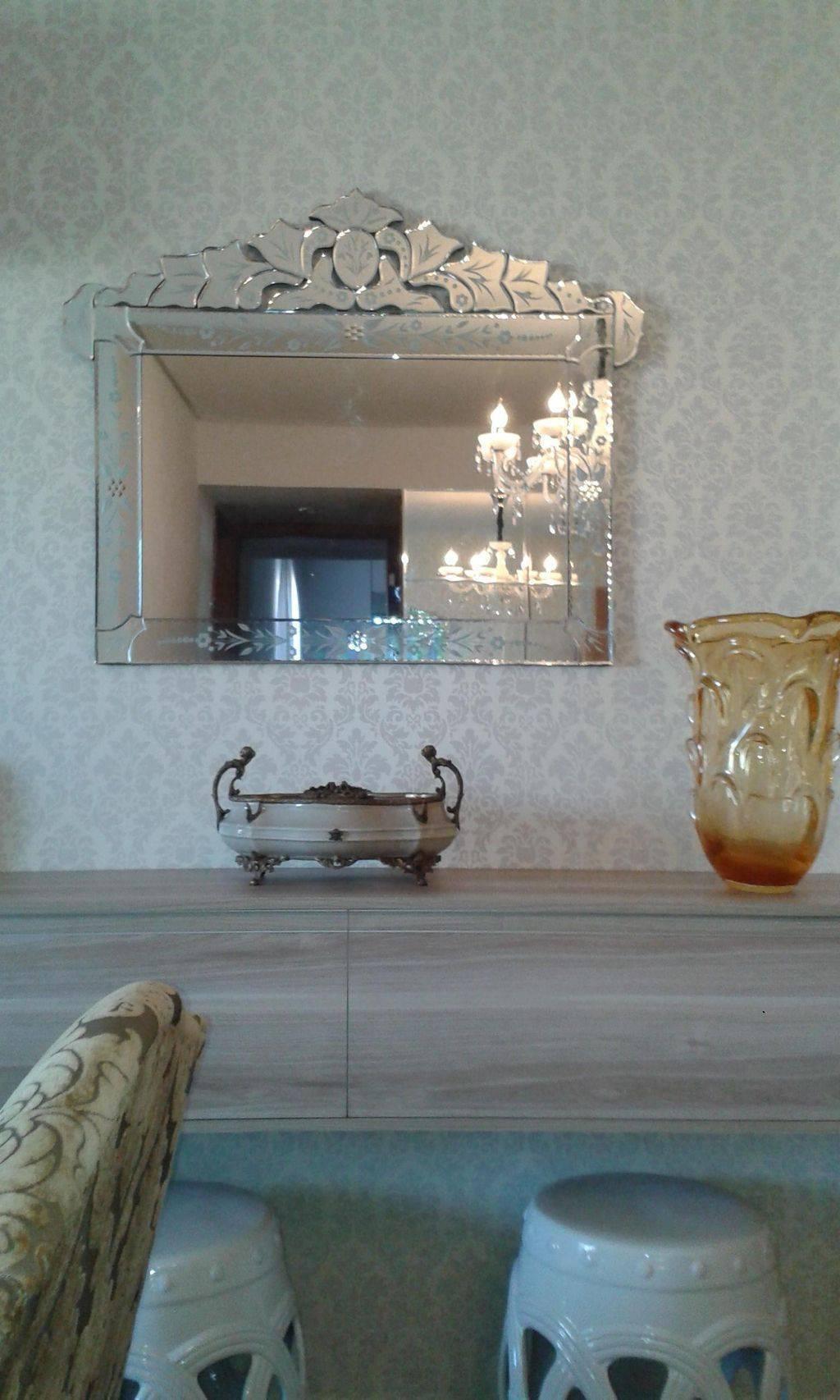 espelho veneziano sala de estar cidmamadik 36315