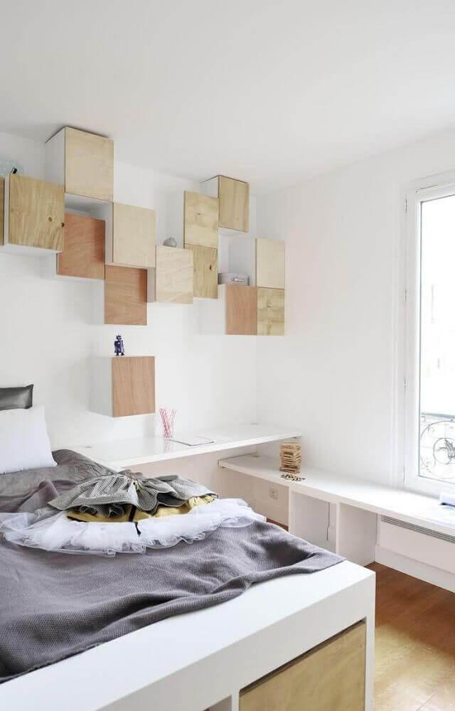 modelos de nichos com porta para quarto