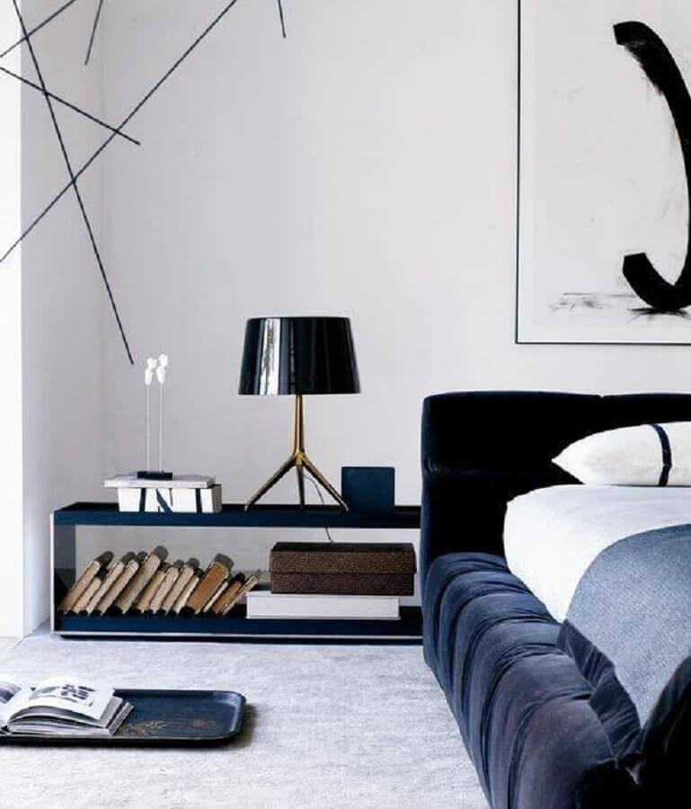 nichos como criado mudo para quarto