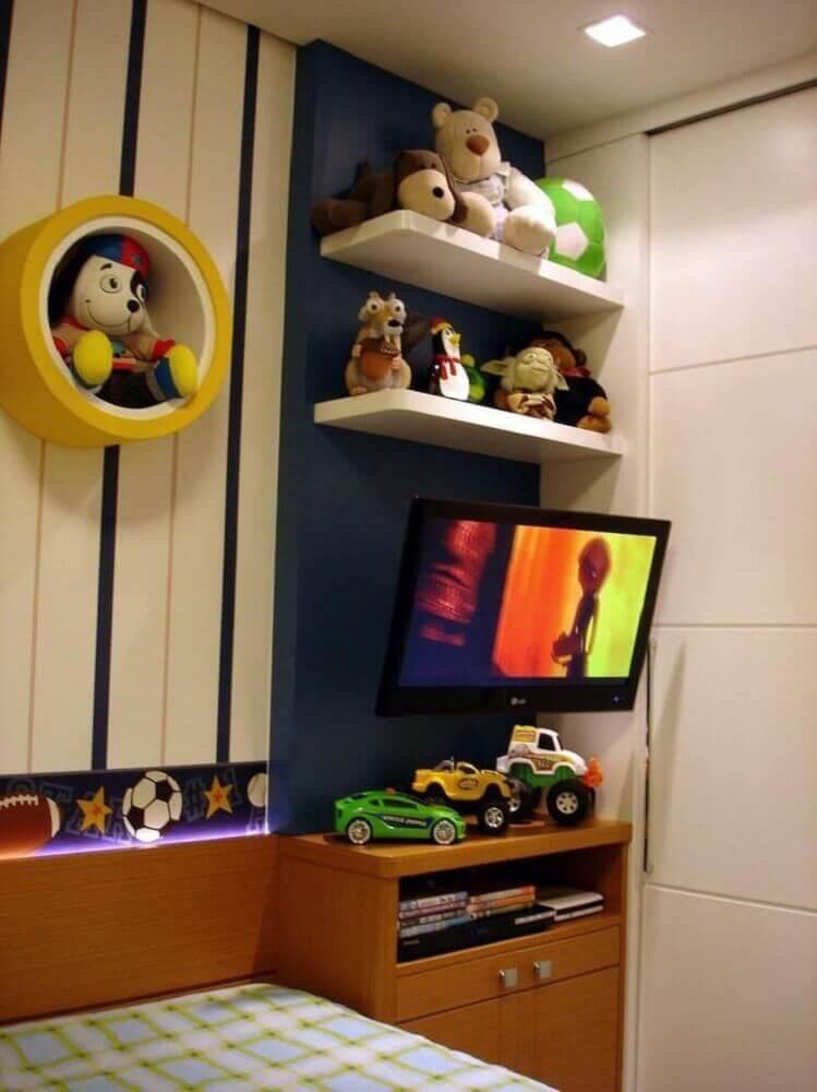 nichos para quarto infantil com formato redondo