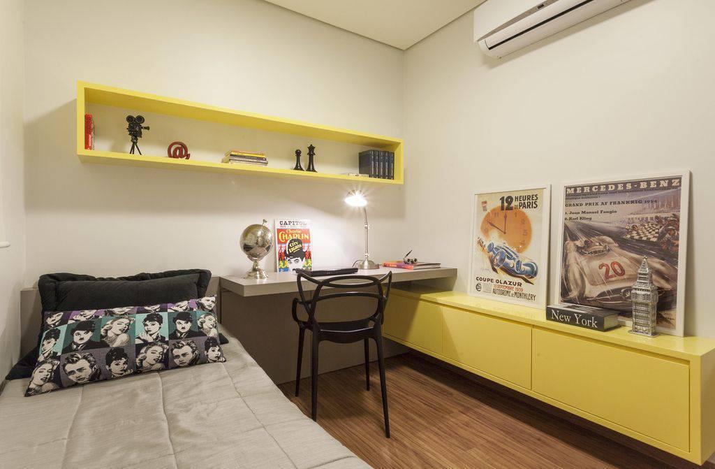 nicho para quarto de solteiro