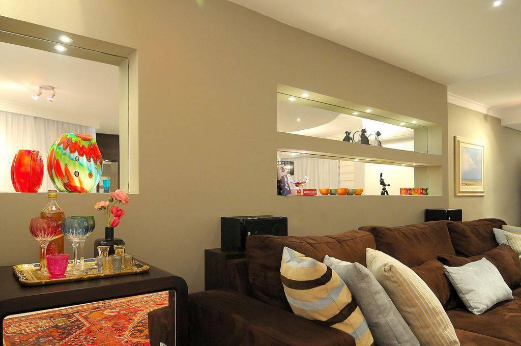 nichos espelhados para sala
