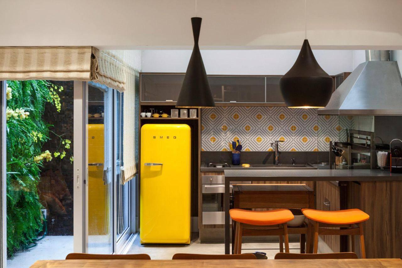 porta de correr na cozinha planejada arqin 23211