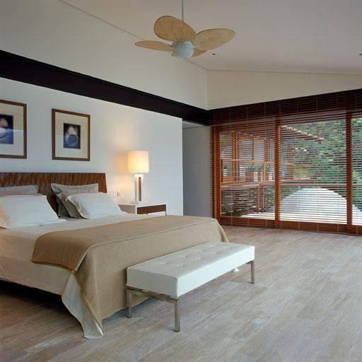 quarto de casal com ventilador de teto oscar mikail 74419