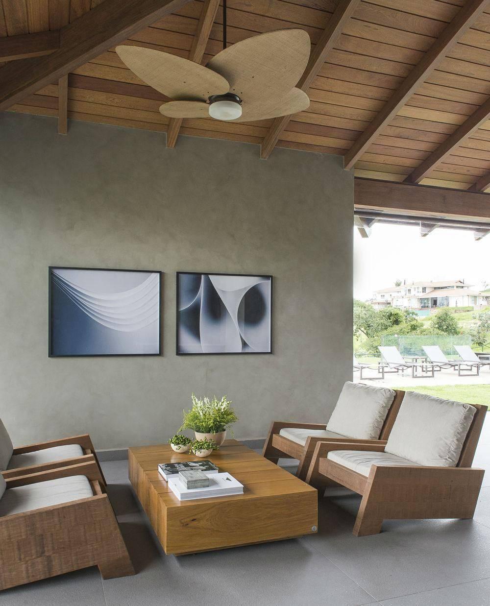 ventilador de teto na sala de estar triplexarqui 16651