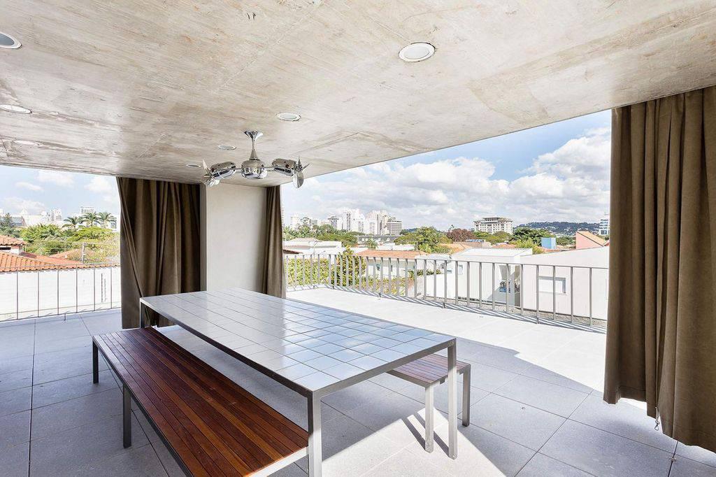 ventilador de teto na varanda gourmet felipe hess108846