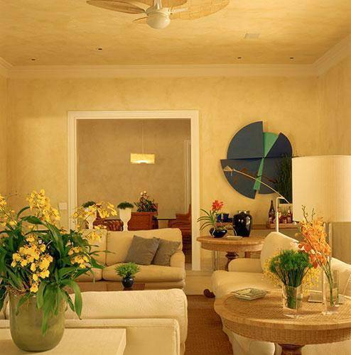 ventilador de teto sala de estar oscar mikail 74573