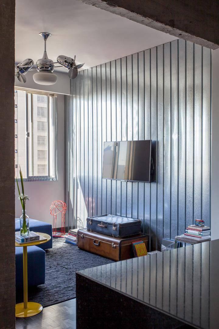 ventilador de teto sala de estar tria arquitetura 21720